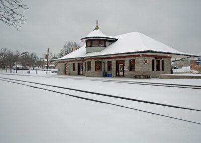 Historic-Kirkwood-Train-Station-Snowy-Station-and-Tracks-1