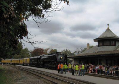 Historic-Kirkwood-Train-Station-UP-Engine-844-By-Nancy